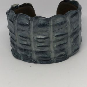 Jewelry - Alligator Cuff Bracelet